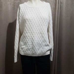 Old nave cardigan size L